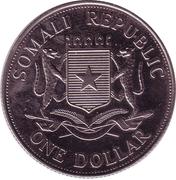 1 Dollar (John Paul II) – obverse