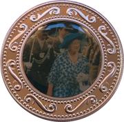 1 Dollar (Queen Mother - Parade) – reverse