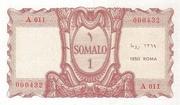 1 Somali – reverse