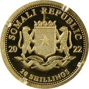 20 Shillings (Elephant) -  obverse