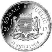 25 Shillings (Elephant) -  obverse