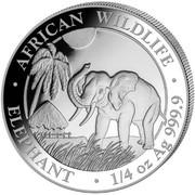 25 Shillings (Elephant) -  reverse