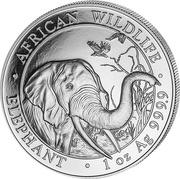 100 Shillings (Elephant) -  obverse