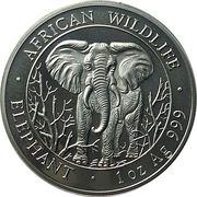 1000 shillings (Elephant  Standing) – reverse