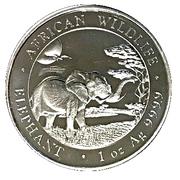 100 Shillings (Elephant) – reverse