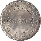 1 Somalo – reverse
