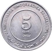 5 Senti (FAO) – obverse