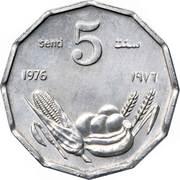 5 Senti (FAO) – reverse