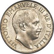 1 Rupia - Vittorio Emanuele III – obverse