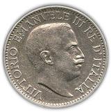 ¼ Rupia - Vittorio Emanuele III – obverse