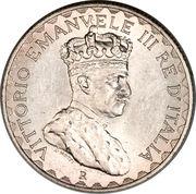 5 Lire - Vittorio Emanuelle III – obverse