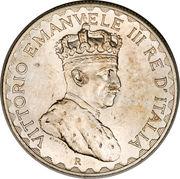 10 Lire - Vittorio Emanuele III – obverse