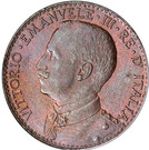 1 Besa - Vittorio Emanuele III – obverse