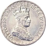 10 Lire - Vittorio Emanuelle III (Prova di stampa) – obverse