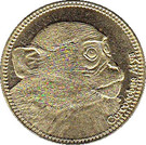 5 Shillings (Cercocebus Atys) – reverse