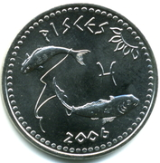 10 Shillings (Pisces) – obverse