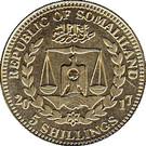 5 Shillings (Pan Troglodytes) – obverse