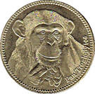 5 Shillings (Pan Troglodytes) – reverse