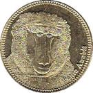 5 Shillings (Papio Anubis) – reverse