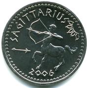 10 Shillings (Sagittarius) – reverse