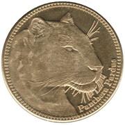 5 Shillings (Panthera Pardus) – reverse
