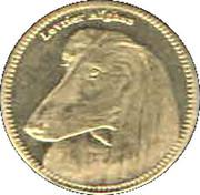 5 Shillings (Afghan hound) – reverse