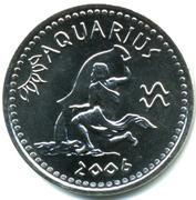 10 Shillings (Aquarius) – reverse