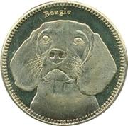 5 Shillings   (Beagle) – reverse