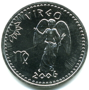 10 Shillings (Virgo) – obverse