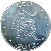 10 Shillings (Leo - empty leaves) – reverse