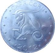 10 Shillings (Capricorn - empty leaves) – reverse