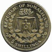5 Shillings (Eolophus Roseicapilla) – obverse