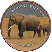 1 Shilling (Elefant) – reverse