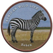 1 Shilling (Zebra) – reverse