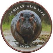 1 Shilling (Hippo) – reverse
