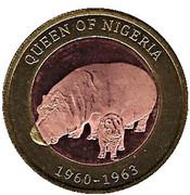 2500 Shillings (Elizabeth II 90th Anniversary - Queen of Nigeria) – reverse