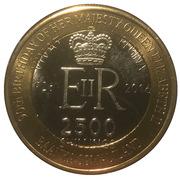 2500 Shillings (Elizabeth II 90th Anniversary -  Queen of Solomon Islands) – obverse