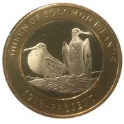 2500 Shillings (Elizabeth II 90th Anniversary -  Queen of Solomon Islands) – reverse