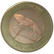 2500 Shillings (Elizabeth II 90th Anniversary -  Queen of Fiji) – reverse