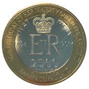 2500 Shillings (Elizabeth II 90th Anniversary -  Queen of Grenada) – obverse