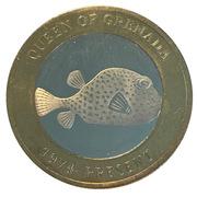 2500 Shillings (Elizabeth II 90th Anniversary -  Queen of Grenada) – reverse