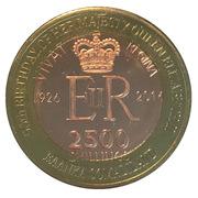2500 Shillings (Elizabeth II 90th Anniversary -  Queen of Malawi) – obverse