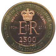 2500 Shillings (Elizabeth II 90th Anniversary -  Queen of Kenya) – obverse