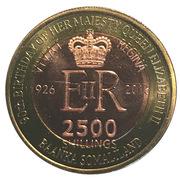 2500 Shillings (Elizabeth II 90th Anniversary -  Queen of Sierra Leone) -  obverse