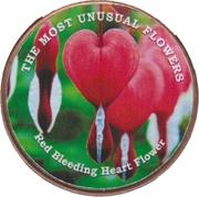 1 Shilling (Red Bleeding Heart Flower) – reverse