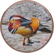 1 Shilling (Mandarin Duck) – reverse