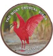 1 Shilling (Scarlet Ibis) – reverse