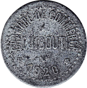 10 Centimes (Chambers of Commerce Coinage) – obverse