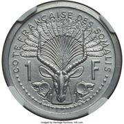 1 Franc (Piedfort Essai) – reverse