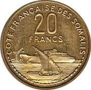 20 Francs (Piedfort Essai) – reverse